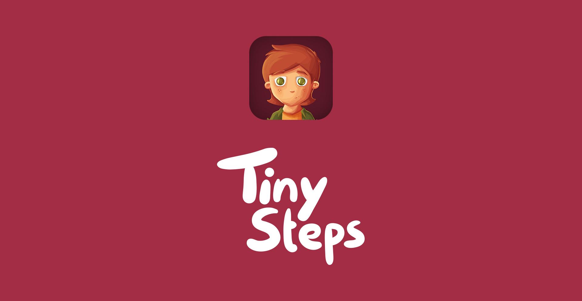 "Logodesign App ""Tiny Steps"""