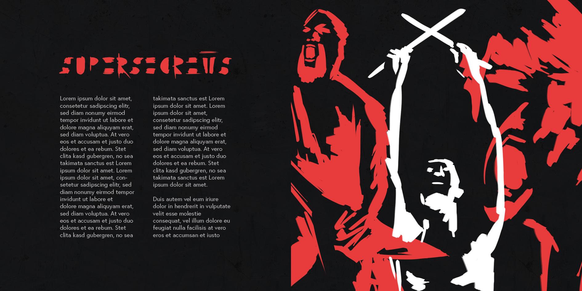 """Corporate Design """"Supersecrets"""" - Album Booklet"""