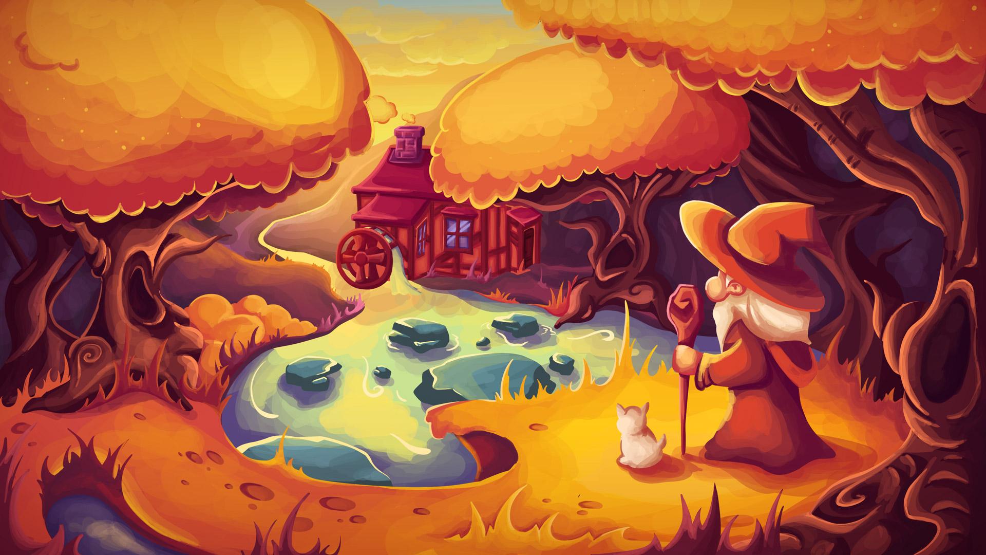 Illustration Wanderer