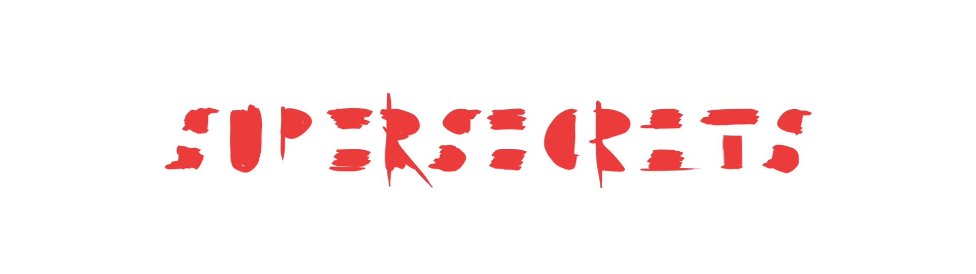 "Logodesign ""Supersecrets"" - Band"