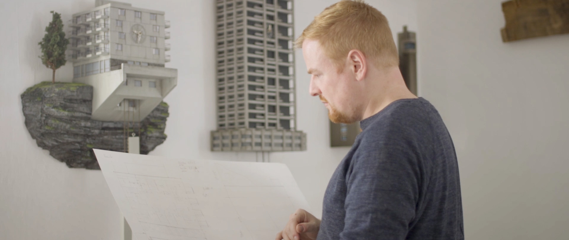Standbild aus dem Portraitfilm Guido Zimmermann
